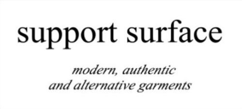 'support surface'のブランドロゴ